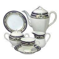 Yamasen Сервиз чайный на 12 персон, синий, 41 пр.