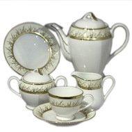Yamasen Сервиз чайный на 12 персон, ивори, 41 пр.