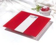 Soehnle Весы напольные Pino Limited Edition, 35.4x4.2x33.5 см, красные