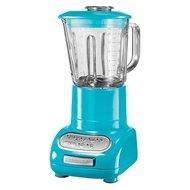 KitchenAid Блендер, стакан стеклянный (1.5 л), 6 скоростей, Pulse, голубой кристалл, с доп. стаканом