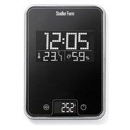 Stadler Form Весы кухонные Scale One, 15.5x22.7x2 см, черные