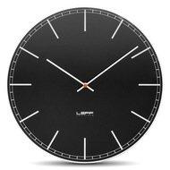Leff Часы настенные one45 index, черные