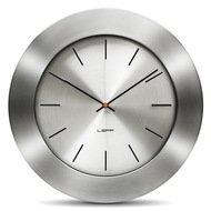 Leff Часы настенные bold35 index, стальные