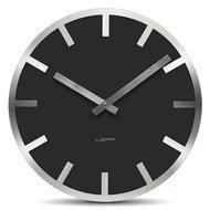 Leff Часы настенные metlev35 index, черные
