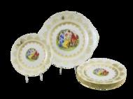 Leander Сервиз для торта Верона Пастораль, 7 пр.