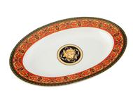 Leander Блюдо для гарнира овальное Сабина Красная лента, 22 см