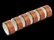 Leander Набор колец для салфеток Сабина Красная лента, 6 шт.
