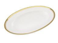 Leander Блюдо для гарнира Сабина Изящное золото, овальное, 22 см