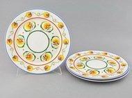 Leander Набор тарелок мелких Сабина Фруктовые сады, 30 см, 3 шт.