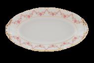 Leander Блюдо овальное Соната Розовая нить, 17 см