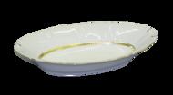 Leander Корзина для хлеба Соната Изящное золото, 33.5 см