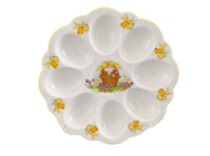 Leander Поднос для яиц Мэри-Энн окантовка с золотом