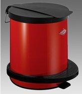 Wesco Мусорный контейнер с педалью (5 л), красный (117750)