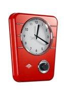 Wesco Кухонные часы с таймером Retro Style, красные