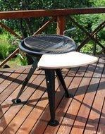 GrillPro Барбекю-гриль GrillPro GY-1060, с боковым столиком