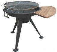 GrillPro Барбекю-гриль GrillPro GY-1080, с боковым столиком и раздвижной решеткой