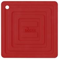 Lodge Подставка квадратная, 15 см, красная