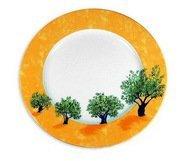 Guy Degrenne Блюдо круглое Ouliveiro Porcelaine деревья, 32 см