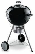 Weber Гриль угольный One-Touch Premium, 57 см, черный, с встроенным термометром и решеткой