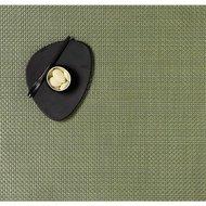 CHILEWICH Салфетка подстановочная Grass green 36х48см, жаккардовое плетение