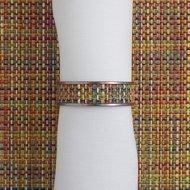 CHILEWICH Кольцо для салфеток Confetti, 1.3x4.1 см, жаккардовое плетение