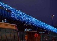 Globall Concept Гирлянда-бахрома Icicle Curtainlight LED, 3x1.4 м, 300 LED, синяя