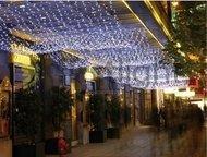 Globall Concept Световой занавес Curtainlight LED, 1.5x2 м, 240 белых LED