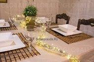 Globall Concept Электрогирлянда для украшения стола Microlight LED, 2 м, 200 теплых белых LED