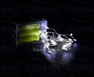 Globall Concept Электрогирлянда для украшения стола Microlight LED, 2 м, 200 белых LED, без батареек