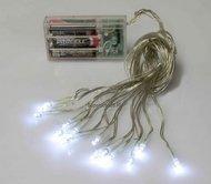 Globall Concept Гирлянда Mini LED flashLED, 15 белых LED, 0.5 м