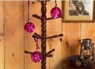 Globall Concept Набор стеклянных шаров Glasslight LED, фиолетовые 10 см, 3 шт.