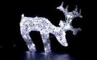 Globall Concept Светодиодный олень Twisted Serie LED 0.6x0.45x0.2см, 60 белых LED