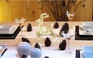 Globall Concept Светодиодный олень прыгающий Twisted Serie LED, 0.18x0.23x0.1 см, 20 теплых белых LED