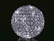 Globall Concept Светодиодный шар Diamond Serie LED, 25 см, 20 белых LED