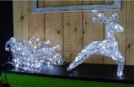 Globall Concept Светодиодный олень Diamond Serie LED, 0.8x0.4x0.24 см, 110 LED