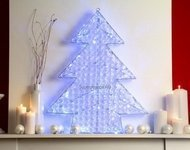 Globall Concept Светодиодная ель Diamond Serie LED, 0.6x0.7x0.7 м, 70 белых LED