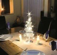 Globall Concept Световое дерево Metal tree LED, 45 см, теплые белые LED