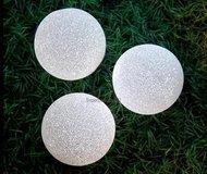 Globall Concept Светодиодная гирлянда Decolight LED, 3 шара EVA, белые, 15 см