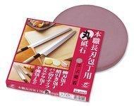 Naniwa Камень точильный для ножей, 22х2.4см, финишный плоский круг