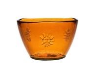 Чаша Sol (0.7 л), 14х10 см, оранжевая