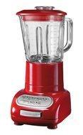 KitchenAid Блендер, стакан стеклянный (1.5 л), 6 скоростей, Pulse, красный