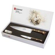 Wusthof Набор кухонных ножей 2 шт, выпущенный к 200 летнему юбилею в подарочной упаковке