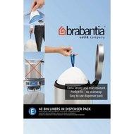 Brabantia Пакет пластиковый, размер E (20 л), белый, 40 шт., в упаковке