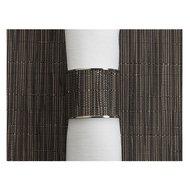 CHILEWICH Кольцо для салфеток Grey Flannel, 3.8x4.1 см, жаккардовое плетение