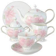 Emerald Чайный сервиз Розовые цветы на 6 персон, 21 пр.