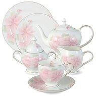 Emerald Чайный сервиз Розовые цветы на 12 персон, 40 пр.