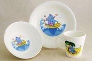 Rainbow Детский набор посуды Слоник, 3 пр.