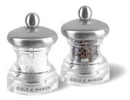 Cole &Mason Набор мельниц для перца и соли Button, 6.5 см, 2 шт.