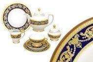 Falkenporzellan Чайный сервиз Империал Кобальт на 12 персон, 40 пр.