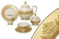Falkenporzellan Чайный сервиз Марракеш кремовый на 6 персон, 21 пр.